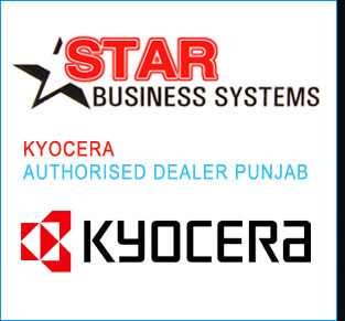 Kyocera Photocopier - Kyocera laser Printers authorised dealer in punjab ludhiana