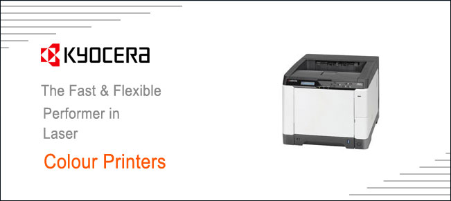 Kyocera colour laser printers distributor dealers in Ludhiana Punjab